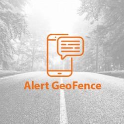 SMS alert o przekroczeniu strefy GeoFence