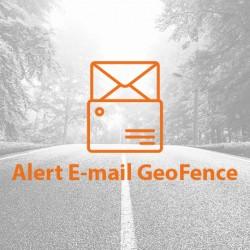 Email alert o przekroczeniu strefy GeoFence