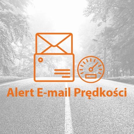 E-mail o przekroczeniu prędkości