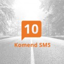 Pakiet 10 komend SMS