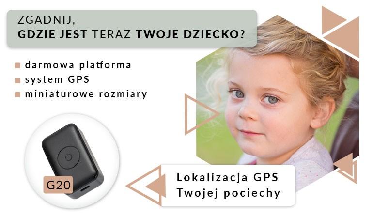 Mini lokalizator GPS G20