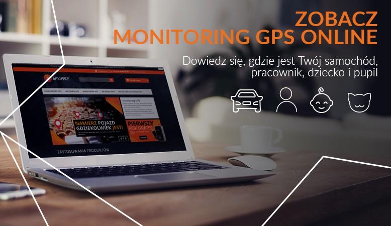 Monitring GPS on line
