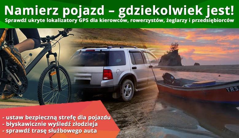 Lokalizator GPS - monitoring pojazdów